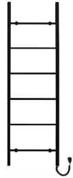 Elektrinis gyvatukas PRIMAVERA, PRVE-50/160C31 juoda matinė (laidas kaireje)