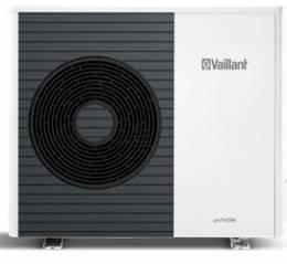 aroTHERM VWL 75/5 AS 230V - 6.0 kW, COP 4,7 Lauko blokas jungiamas su VWL 77/5 IS arba VWL 78/5 IS