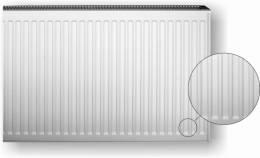 Plieninis radiatorius HM 20K-5-1400, prijungimas iš šono