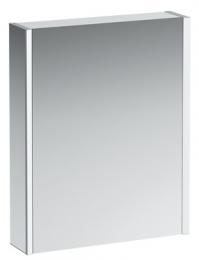 Veidrodinė spintelė 60x75x15 cm Frame 25 su apšvietimu Ambient, dešinė p.