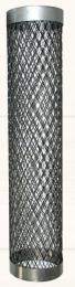 Tinklas iš nerūdijančio plieno apie pirties dūmtraukį d.210, L-1m