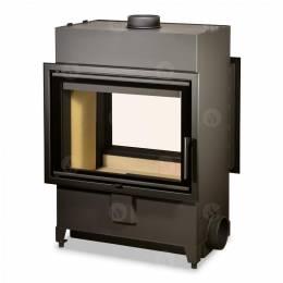 Plieninis židinio ugniakuras Romotop Heat TUNNEL 70.50.01