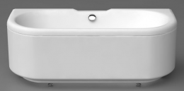 Akmens masės vonia Vispool Londra 1700x765 mm, balta