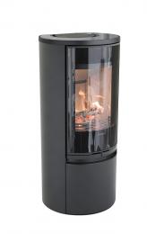 Krosnelė CONTURA C510:2 G Style, juodos spalvos, stiklinis viršus (798969, 998552,803325)