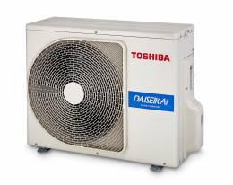 Išorinė inverter split tipo dalis Toshiba Premium (R32 freonas) 2,5/3,2 kW