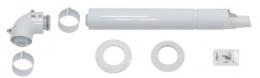 Horizontalus dūmtraukis kondensaciniams katilams, d.60/100 mm (20219516)