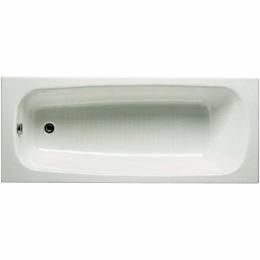 Ketaus vonia Continental, 1200x700 mm, be antislip, balta