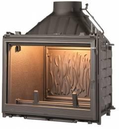 Ketinis židinio ugniakuras Seguin Kiteflam DESIGN Efekt, dv. degimo sistema (F0400+DC04)