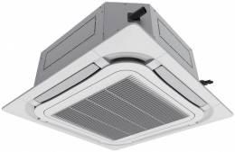 Kasetinė split tipo inverter oro kondicionieriaus U-Match vidinė dalis 10,0/12,0 kW, (grotelės TF06), R32