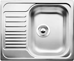 Plautuvė BLANCOTIPO 45S Mini, 605x500, plieninė, matinis paviršius