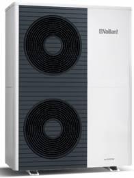 aroTHERM VWL 125/5 AS 230V - 10,3 kW, COP 4,6 Lauko blokas jungiamas su VWL 127/5 IS arba VWL 128/5 IS