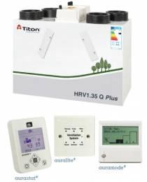 Rekuperatorius TITON HRV1.35 Q Plus BC Eco dešininis 217m3/h@100Pa