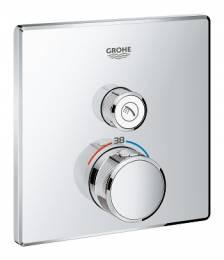 Virštinkinė dušo maišytuvo Grohtherm SmartControl dalis, chromas