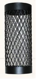 Dažytas tinklas apie pirties dūmtraukį d.210, L-0.5m