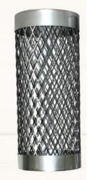 Tinklas iš nerūdijančio plieno apie pirties dūmtraukį d.210, L-0.5m