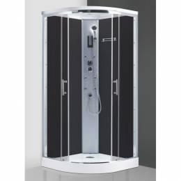 Masažinė dušo kabina MAROCCO NEO 900/2150 Brillant/Rauch