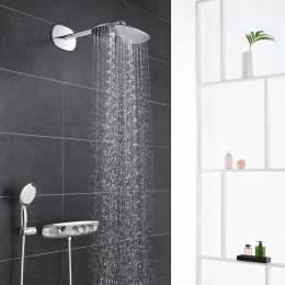 Virštinkinė termostatinė dušo sistemos dalis dušo sistema Rainshower System SmartControl 360 DUO, chromas