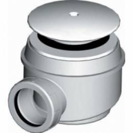 Deep sifonas akriliniams dušo padėklams, su nerūdijančio plieno gaubteliais su JIKA logotipu