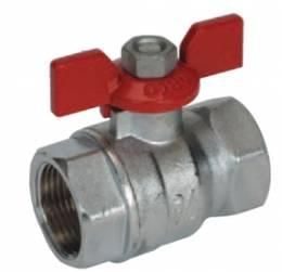 "TURIA 3000 ventilis 3/4"" v/v trumpa rankena (0120808)"