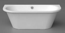 Akmens mases vonia Onda, 1750x760 mm, balta