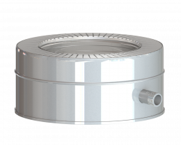 Dvisienis šoninis kondensato rinktuvas NPNP (S-0.8mm) d.115/215 (BL)