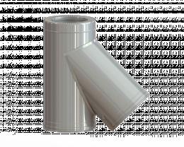 Dvisienis trišakis NPNP (S-0.8mm) 45° d.115/215
