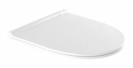 WC dangtis SANLIFE CLIPOFF su slowclose mech., antibakterinis, Duroplast, nerūd.pl. lankstai, baltas (n.k.23661)