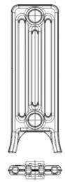 Ketinis sek. radiatorius KALOR 350/160, koja (grunto sp.)