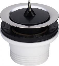 Viega išleidimo ventilis su kamščiu 1 1/2 x 70, plastikas
