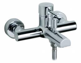 MIO Sieninis vonios-dušo maišytuvas be dušo komplekto, chromuotas