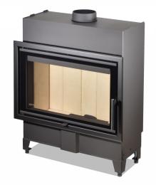 Plieninis židinio ugniakuras Romotop KV HEAT H2P13 70.44.13 (gylis 370mm)
