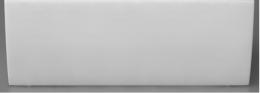 Akmens masės vonios Vispool Classica 1500x750mm priekinė uždanga,balta