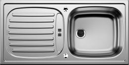 Plautuvė BLANCO FLEX, 860x435 mm, nerūdijantis plienas