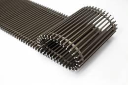 Grotelės įleidžiamam grindiniui konvektoriui GR 110x32 ruda