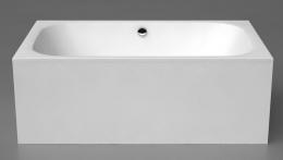 Akmens masės vonia Vispool Libero DUO 1900x1200 mm, balta