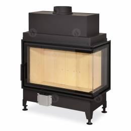 Židinio ugniakuras kampinis HR2SF21 81.51.40 dviejų dalių deš. pusės stiklu 51 cm ir atv. dur.