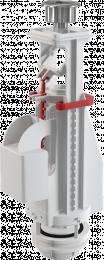WC nuleidimo mechanizmas, A08A dvig. 3/6 ltr., unitazų bakeliams