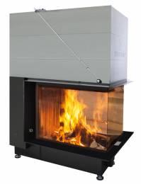 Plieninis židinio ugniakuras Spartherm Premium A-U-70h, ø 200 mm