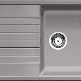 Plautuvė BLANCOZIA XL 6S, 1000x500 mm, aliuminio metalinės spalvos