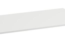 Stalviršis SPACE be išpjovos 870x520 mm, šviesus riešutas
