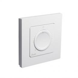 Icon™ standartinis,  įleidžiamas į sieną patalpos termostatas 230V/50Hz, temp. ribos 5-30C, 3A/230V AC