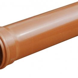 Lauko kanaliz. PVC N vamzdis su mova d. 110/ 3.2/ 2 m