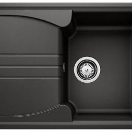 Plautuvė BLANCOENOS 40S, 680x500 mm, juoda spalva