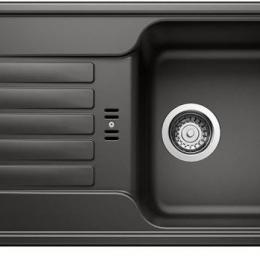 Plautuvė BLANCOFAVOS MINI, 780x435 mm, juoda spalva