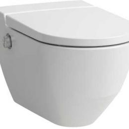 Higieninis pakabinamas unitazas CLEANET NAVIA su apiplovimo funkcija, Rimless, LCC , su softclose sėdyne ir dangčiu.