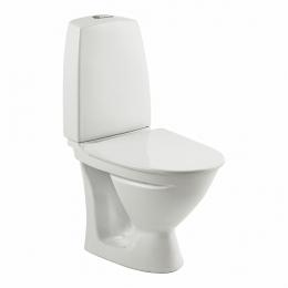 SIGN kombinuotas unitazas, horizontalus, siauras bakelis, 2/4 ltr. Fresh WC funkcija, baltas