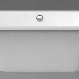 Akmens masės vonia Vispool Evento 2, 1750x750 mm, su 2 apvalintais kampais, balta