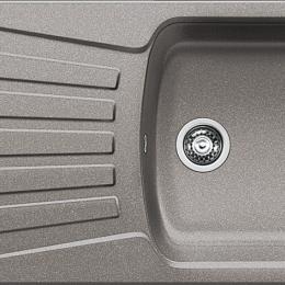 Plautuvė BLANCONOVA 45S, 810x500 mm, aliuminio metalinė spalva