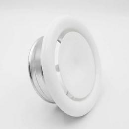 Metalinis difuzorius SVA2 oro padavimui  d200mm su tvirt. žiedu