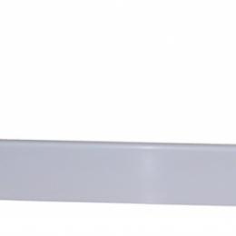 Akmens masės dušo padėklo KK-80, 80x80 cm uždanga, balta